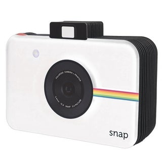 Polaroid Snap Themed Scrapbook Photo Album For 2x3 Photo Paper Pojects (Snap, Zip, Z2300) - White