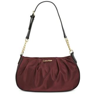 Calvin Klein Womens Demi Handbag Pleated - small
