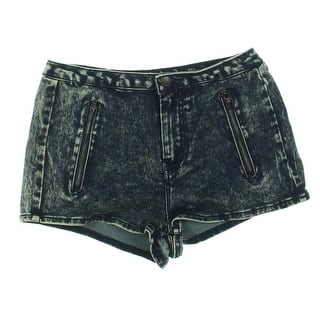 Dollhouse Womens Juniors Denim Shorts Acid Wash Front Zipper Pockets|https://ak1.ostkcdn.com/images/products/is/images/direct/d7997b58c261b4581335ca857d226831a774b415/Dollhouse-Womens-Juniors-Denim-Shorts-Acid-Wash-Front-Zipper-Pockets.jpg?impolicy=medium