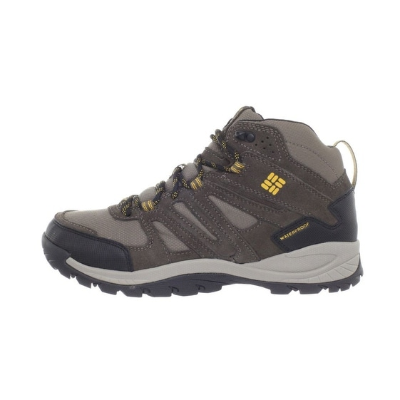 Columbia Big Cedar Hiking Boot, Mens - Waterproof - black, charcoal - 9