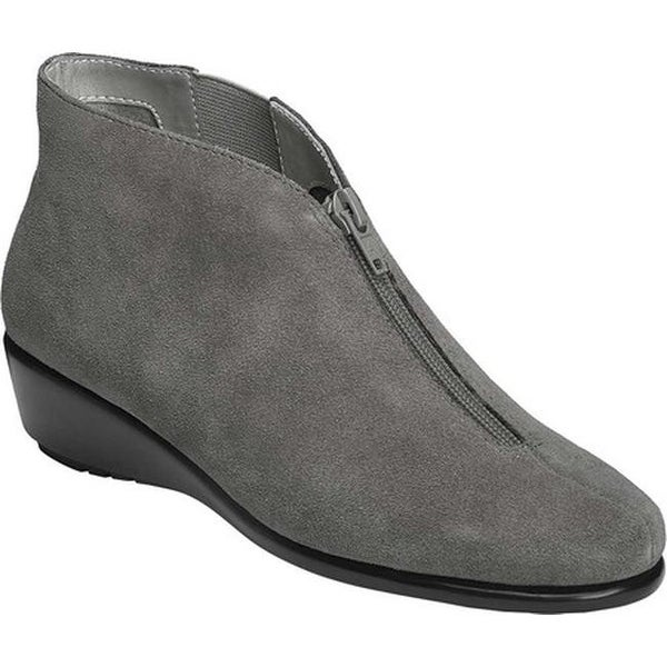 Shop Aerosoles Damens's Allowance Allowance Allowance Ankle Boot Dark Gray Suede Free ... f5f696