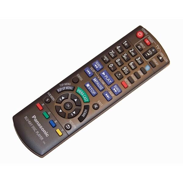 OEM Panasonic Remote Control Originally Shipped with DMPBDT210, DMPBDT210P, DMPBDT210PC, DMPBDT210PX, DMPBDT215