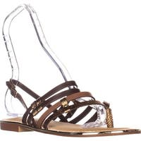 Carlos Carlos Santana Diego Flats Sandals, Antico Brown
