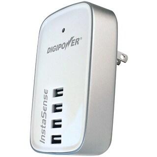 Digipower(R) - Acd-400I - 4.2 Amp 4 Port Usb Chrgr