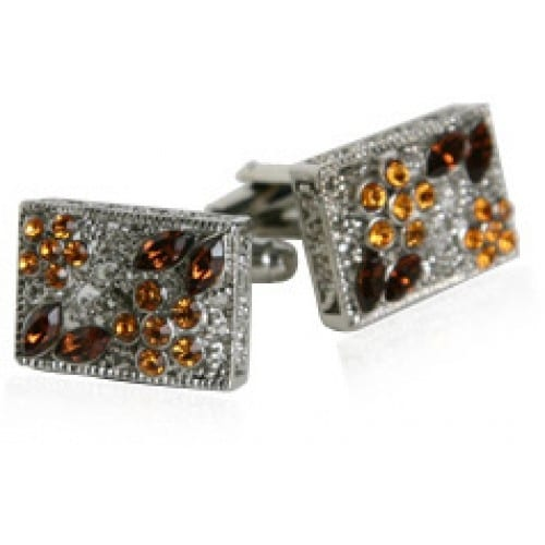 Topaz Filigree Cufflinks