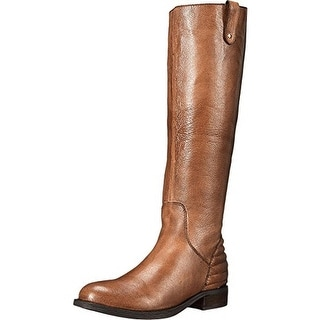 Steve Madden Womens Arries Riding Boots Leather Wide Calf - 6