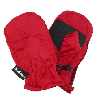 Dorfman Pacific Toddlers Waterproof Mittens with Side Zipper - One Size