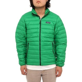 Patagonia Men Men's Down Sweater Puffer Tumble Green