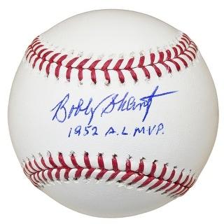 Bobby Shantz Rawlings Official MLB Baseball W1952 AL MVP