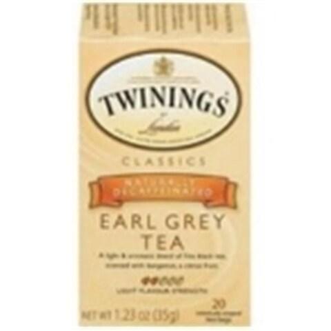 Twinings 27009 Twinings Decaf Earl Grey Tea- 6x20 BAG