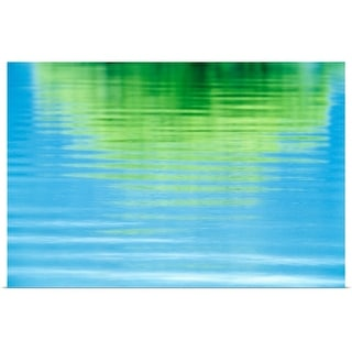 """""""Reflection of a tree in water"""" Poster Print"""