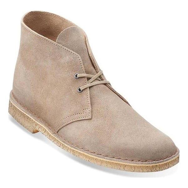 Desert Boot Taupe Distressed Suede