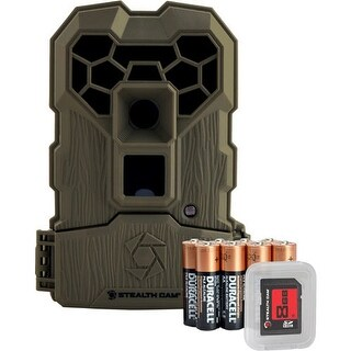 Stealth cam stcqs24ngk stealth cam trail cam qs24ngk quick scout 12mp no-glo camo