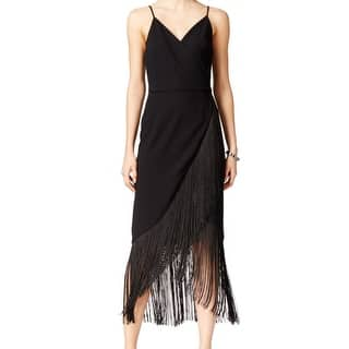 Rachel Rachel Roy NEW Black Woven Fringe 14 Asymmetrical Hem Dress|https://ak1.ostkcdn.com/images/products/is/images/direct/d7a3f53f2656c5f41d961aec8e60b5e7bbd0711f/Rachel-Rachel-Roy-NEW-Black-Woven-Fringe-14-Asymmetrical-Hem-Dress.jpg?impolicy=medium