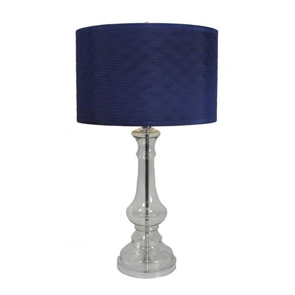 Superbe Angelina Tall Glass Table Lamp