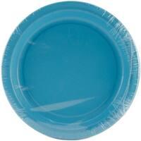 "Luncheon Plates 7"" 24/Pkg-Bermuda Blue"