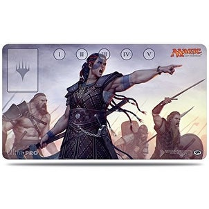 Commander 2016 Saskia the Unyielding Play Mat for Magic the Gathering