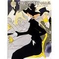 ''Divan Japonais'' by Henri de Toulouse-Lautrec Vintage Advertising Art Print (31 x 23.875 in.) - Thumbnail 0