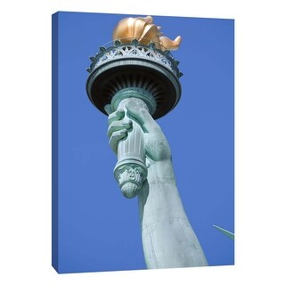 """PTM Images 9-106009  PTM Canvas Collection 10"""" x 8"""" - """"Statue of Liberty 2"""" Giclee Statue of Liberty Art Print on Canvas"""