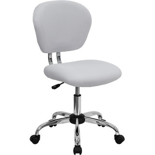 Brielle Mid-Back White Mesh Swivel Home/Office Task Chair
