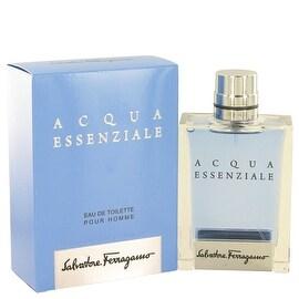 Acqua Essenziale by Salvatore Ferragamo Eau De Toilette Spray 3.4 oz - Men