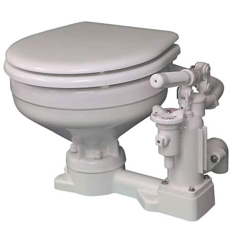Raritan engineering raritan ph superflush toilet with soft-close lid p101