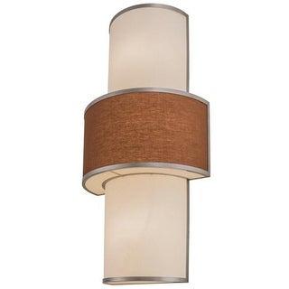 2nd Ave Lighting 48 x 24 in. Jayne Sconces, Nickel - 4 Bulbs