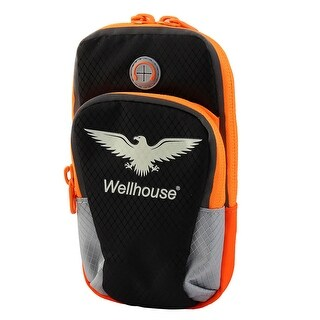 Wellhouse Authorized Breathable Phone Holder Night Light Jogging Sport Arm Bag M