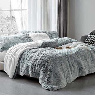 Link to Are You Kidding? - Coma Inducer® Oversized Comforter - Frosted Navy Gray Similar Items in Duvet Covers & Sets