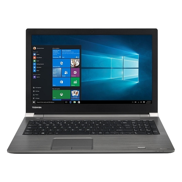 Toshiba - Tecra A50-D,Win10 Pro,Intel Core I7-7500U,Intel Hd Graphics 620,8Gb Ddr4 2133Mhz