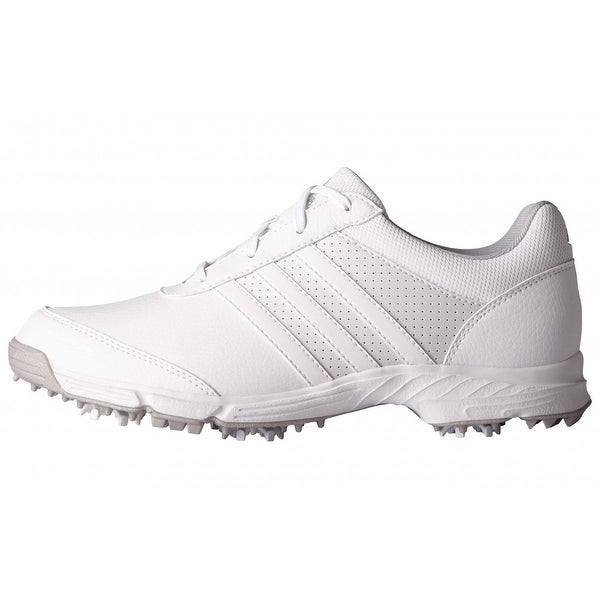 989142e788b4 Shop New Adidas Women s Tech Response White White Matte Silver Golf ...