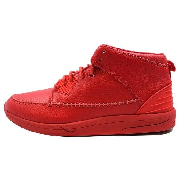 Diamond Supply Co Men's Native Trek Red Leather C15-F115B