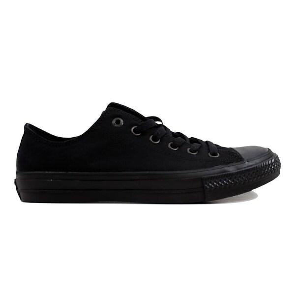 5ca9d2cbfe49 Shop Converse Chuck Taylor All Star II 2 OX Black Black 151223C ...