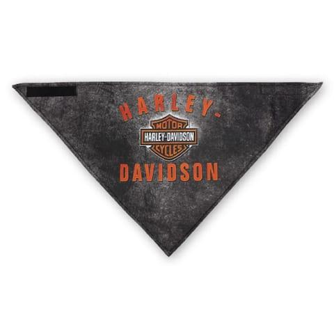 Harley-Davidson Men's 3-in-1 Convertible B&S Rockers Bandana, Black BAC28364 - One Size
