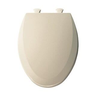Bemis 1500EC Elongated Molded Wood Toilet Seat with Easy-Clean & Change ? Hinge