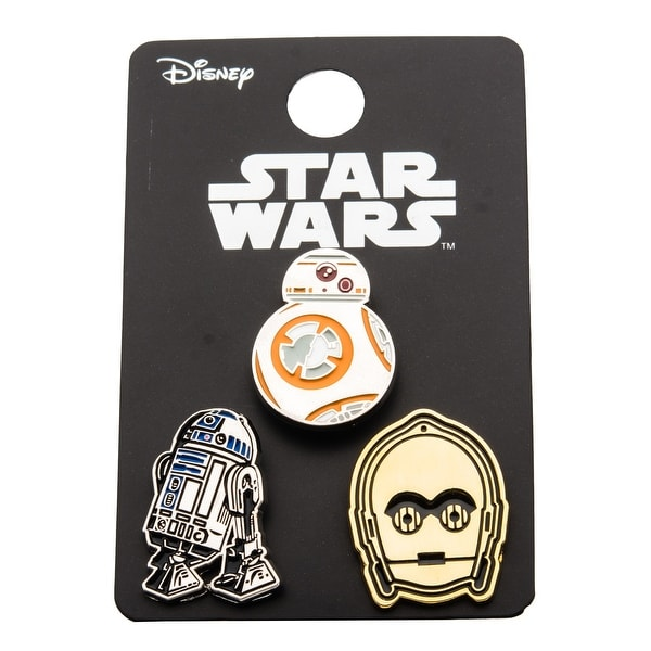 Star Wars Pin Pack: BB8, R2D2, C3PO
