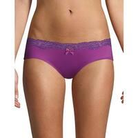 Maidenform® Comfort Devotion® Embellished Hipster - Color - New Vanda Orchid - Size - 8
