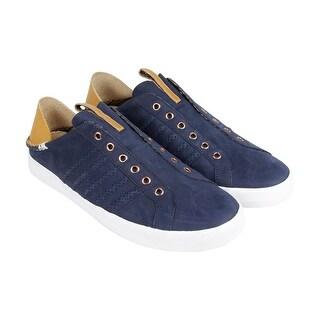 K-Swiss X Billy Reid Belmont Slo NL Mens Blue Leather Lace Up Sneakers Shoes
