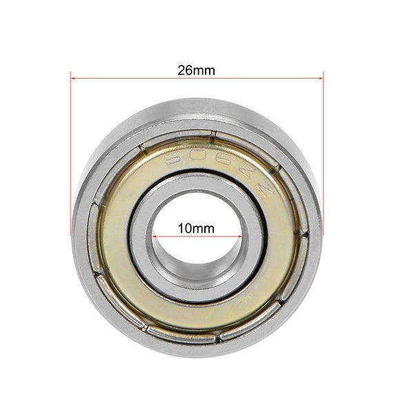 10 pcs 606ZZ  6*17*6  6x17x6mm Metal Shielded Ball Bearing Bearings