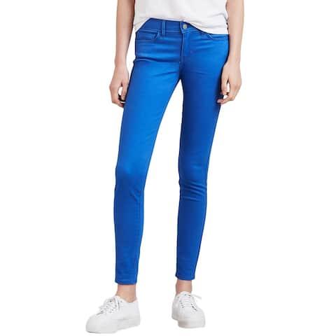 Levis Ladies 710 Super Skinny Jeans 24 x 30 (US 00) Blue Sateen