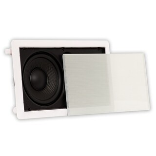 Theater Solutions TSLCR65 In Wall Speaker Home Theater Compact Center Channel