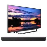 Sony KDL32W600D 32-Inch HD Smart TV Soundbar Bundle