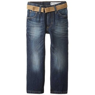 Lee Boys Dungarees Belted Relaxed Bootcut Jeans