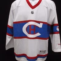 Montreal Canadiens Youth Size L/Xl Team Reebok Jersey