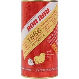 Bon Ami 04030 1886 Original Formula Cleaning Powder, 12 oz