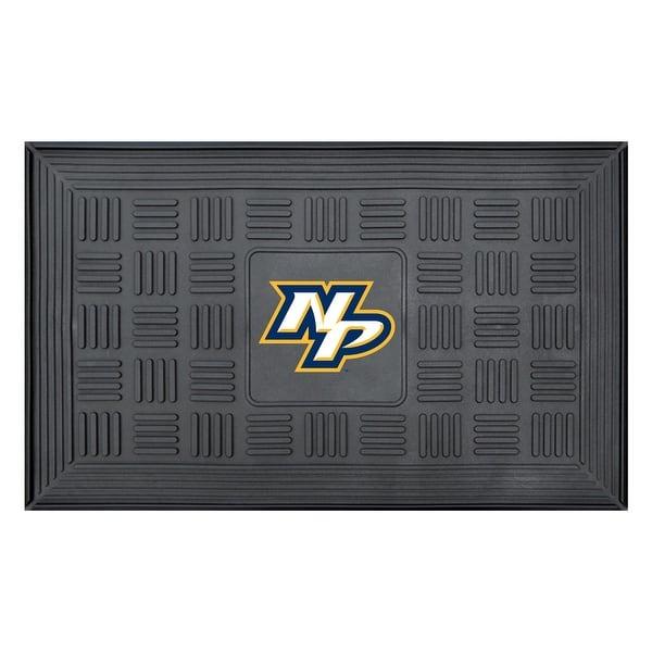 new product 99f8c af59c Shop NHL Nashville Predators 3-D Team Medallion Vinyl Door ...