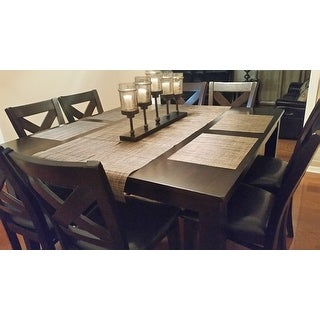 Greyson Living Copley Counter Height Dining Set with Self Storing Leaf