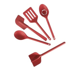 Link to Curtis Stone 5-piece Compact Nylon Tool Set Model 661-711 Similar Items in Cooking Essentials