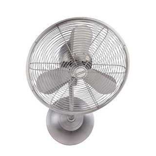 """Craftmade BW116SS3-HW Bellows I 14"""" 3 Blade Wall Mount Fan with Blades Included"""