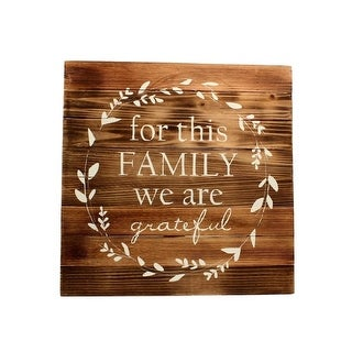 Western Moments Wall Sign Stained Wood Planks Leaf Brown 94099